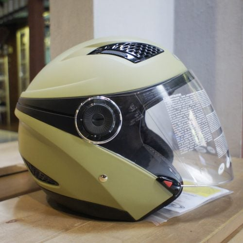 Helm Zeus 610 Green Earth Matte